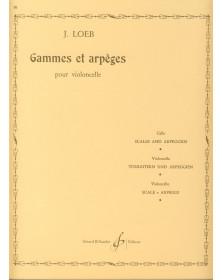 J. Loeb : Gammes Et Arpèges