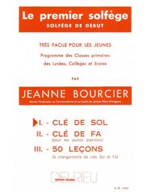 Bourcier : Premier solfège...