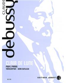 Cl. Debussy : Clair de Lune...