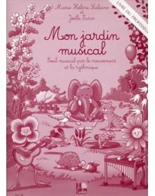 Mon jardin musical - livre...