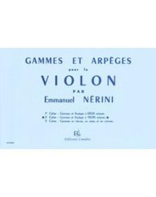 E. Nerini : Gammes et...