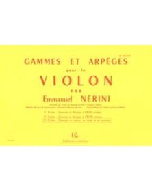 Gammes et arpèges Vol.3...