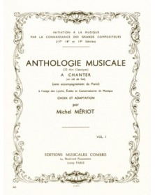 Anthologie musicale Vol.1...