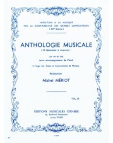 Anthologie musicale Vol.3...