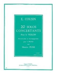 20 Solos concertants -...