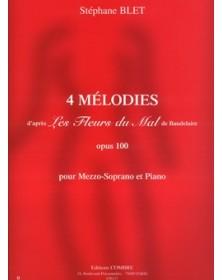 4 Mélodies Op.100 d'après...