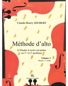 Méthode d'alto Vol.3 - 12...