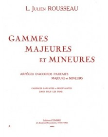 Rousseau : Gammes majeures...