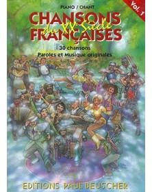 Chansons françaises du XXe...