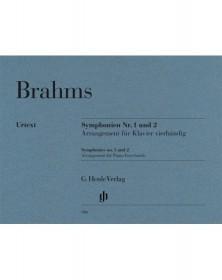 Brahms : Symphonies n° 1 et...
