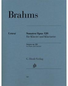 Brahms : Sonates opus 120 -...