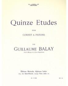 Guillaume Balay : 15 Etudes...