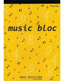 Bloc-Notes - 16 portées