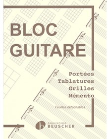 Bloc Guitare - Tablatures...