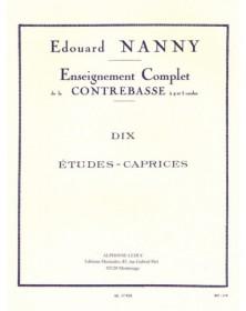 Nanny : 10 Etudes Caprices