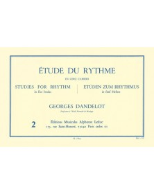 Étude Du Rythme Vol.2