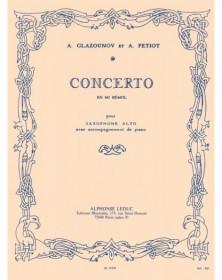 Glazunov : Concerto op. 109...