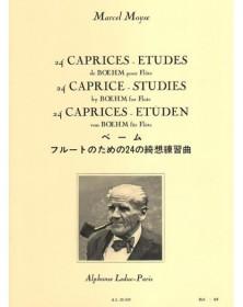 24 Caprices études de Boehm...