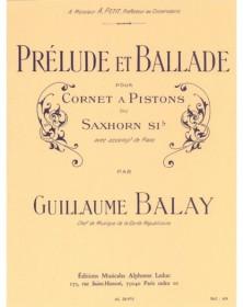 Guillaume Balay : Prélude...