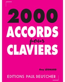 2000 Accords pour Claviers