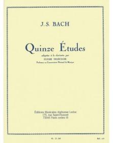 Bach : 15 Études pour...