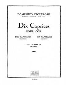 Ceccarossi : 10 Caprices