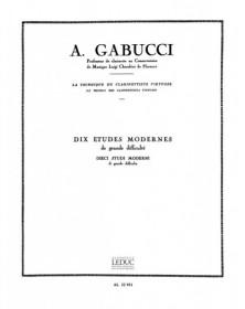 Gabucci : 10 Etudes...