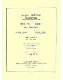 Delecluse : 12 Etudes pour...