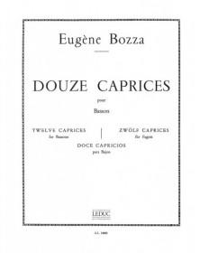Bozza : 12 Caprices pour...