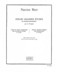 Bizet : 12 Grandes Etudes...