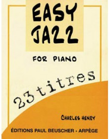 Easy jazz for piano