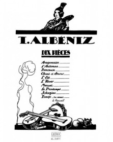 Albeniz : Dix Pieces (10)