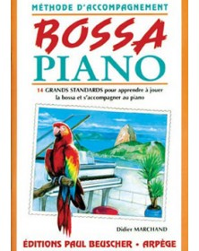 Bossa piano - méthode...