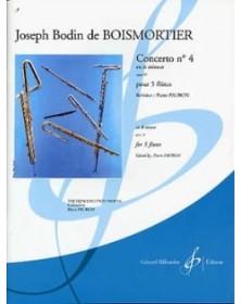 BOISMORTIER Concerto op. 15...