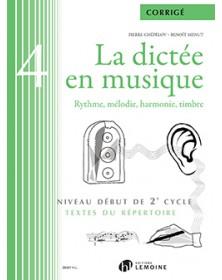 La dictée en musique Volume...