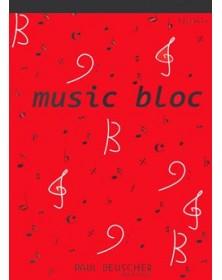 Bloc Note Papier Musique 12...