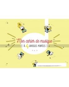 Cahier De Musique Grosses...