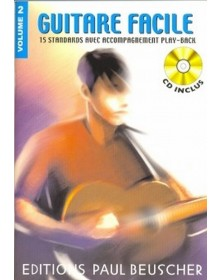 Guitare facile Vol.2 + CD