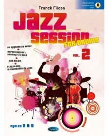 Jazz session for drums vol. 2