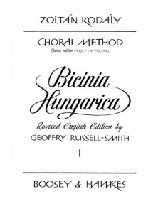 Bicinia Hungarica Volume 1
