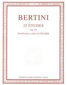 Bertini : 25 Etudes Op.29...