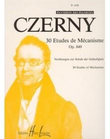 30 Études de mécanisme Op.849