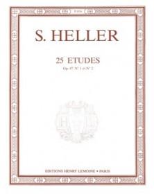 S. Heller : 25 Etudes Op. 47