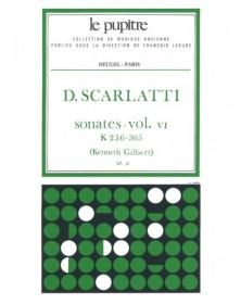 Sonates Volume 6 K256 a K305