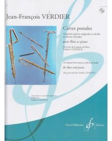 Cartes Postales pour Flûte...