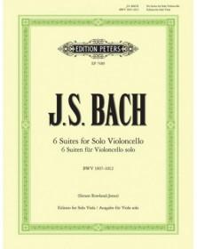 6 Suites Pour Violoncelle...