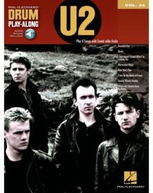 Drum Play-Along Volume 24 : U2