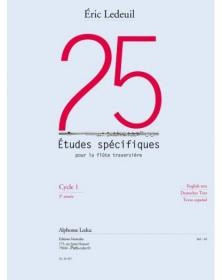 25 Etudes Spécifiques Pour...